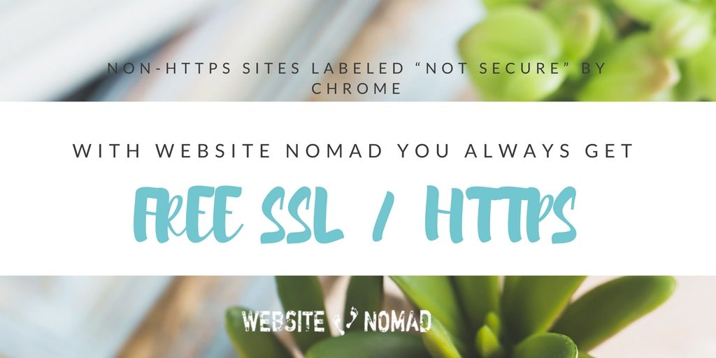 Always free SSL - Website Nomad